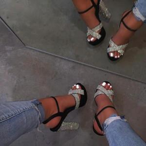 Sandale pentru dame cod M04 Black