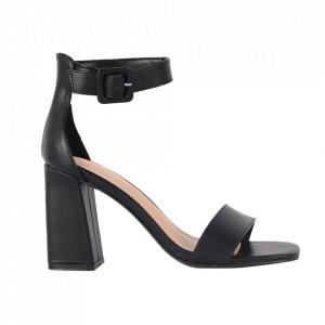 Sandale pentru dame cod OD0228 Black PU