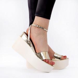 Sandale pentru dame cod PD2 Gold