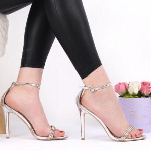 Sandale pentru dame cod ST0020 Silver
