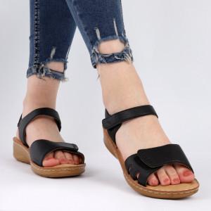 Sandale pentru dame cod TH0003 Black