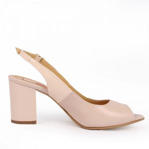 Sandale pentru dame din piele naturală cod 1072 FDT