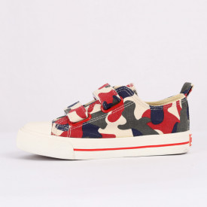Sneakers pentru băieți cod HT889 Roșu Camuflaj - Sneakers pentru băieți, foarte comozi, ideali pentru ieșiri si practicarea exercitiilor în aer liber - Deppo.ro