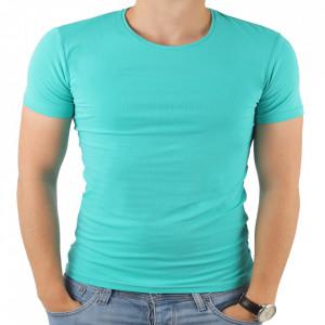 Tricou pentru bărbați cod 4101 Mint Green