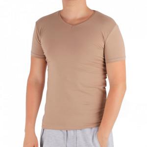 Tricou pentru bărbați Cod 4120 Beige