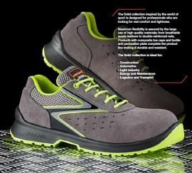 Pantofi de protectie de vara cu dunga reflectorizanta Silver