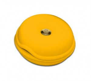 Cable Turtle Mediu galben inchis| Organizator cabluri