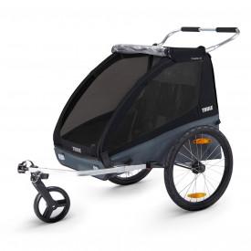Carucior Chariot Thule Coaster XT Black