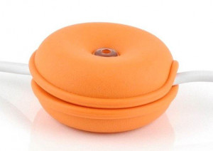 Cable Turtle Mediu portocaliu | Organizator cabluri