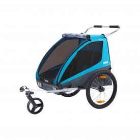 Carucior Chariot Thule Coaster XT Blue 2016-