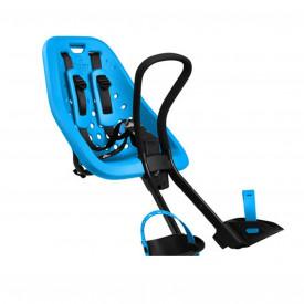 Scaun pentru copii, Thule Yepp Mini, cu montare pe bicicleta in fata, Albastru