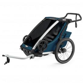 Carucior multisport Thule Chariot Cross, Majolica Blue