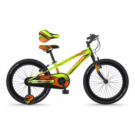 Bicicleta Sprint Casper 20 2021 1SPD Verde Neon Mat