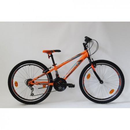 """Bicicleta Sprint Casper 24"""" TBD Hardtail 2021, portocaliu mat"""