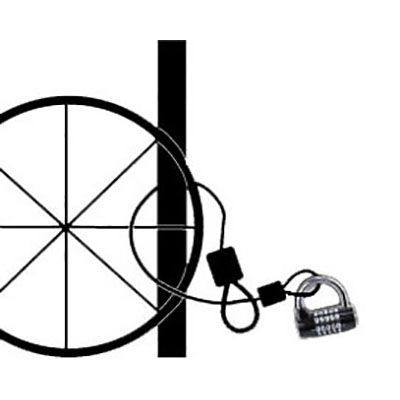 """Cablu Spiralat M-WAVE """"S 10.50 L"""""""
