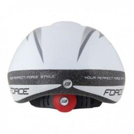 Casca Force Fun Stripes copii alb/gri M
