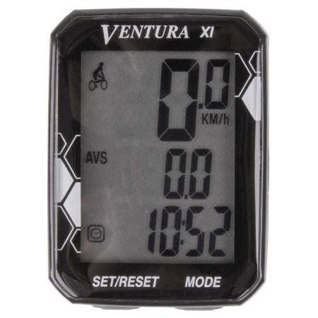 "Ciclocomputer VENTURA ""XI"" 11 Functii cu fir"