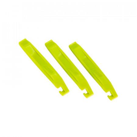 Leviere anvelopa BBB BTL-81 EasyLift 3 bucati galben neon