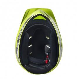 Casca Force Downhill Junior fluo lucios S-M