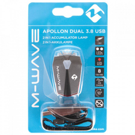 "FAR/STOP M-WAVE ""APOLLON DUAL 3.8 USB"""
