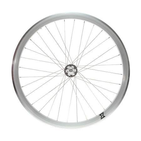 Roata Fata Single Speed/Fixie 700-32H 40 mm Alb