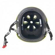 Casca Force BMX fluorescent lucios S-M