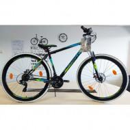 "Bicicleta MTB Sprint Active 29"" 2021 negru mat 480 mm"