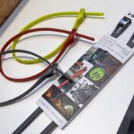 """Cablu securitate cu Cheie HIPLOK """"Z-LOK"""" 420 mm Portocaliu"""