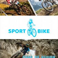 Casca Force Downhill Junior Alb lucios S/M
