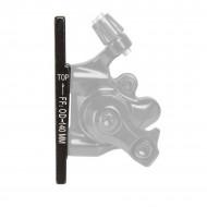 Adaptor etrier flat fata SXT 160 mm-VR