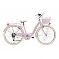 Bicicleta Adriatica Panda 26 Lady 6V Roz 42 cm