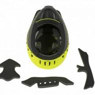 Casca Downhill AUTHOR Hot Shot HST X9 52-54 cm Galben Neon/ Negru