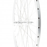 Roata Spate Single Speed/Fixie 700-32H 40 mm Alb