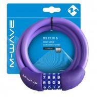 "Antifurt cu Cifru M-WAVE ""DS 12.10 S""-Mov"