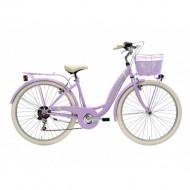 Bicicleta Adriatica Panda 26 Lady 6V Lila 42 cm