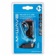 "LAMPA STOP ACUMULATOR M-WAVE ""HELIOS K 1.1 USB"""