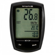 """Ciclocomputer Wireless/Touchscreen M-WAVE """"M21W"""" 21 Functii"""