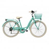 Bicicleta Adriatica Panda 26 Lady 6V Verde mat 42 cm