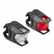 "SET FLASH CU BATERII M-WAVE ""HUNTER"""