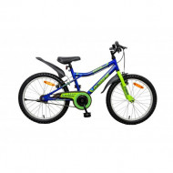 Bicicleta copii Robike Racer 20 verde/albastru