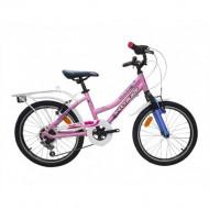 Bicicleta Shockblaze Camilla 20 6v roz 2021