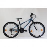 """Bicicleta Sprint Casper 24"""" 2021- negru mat/albastru"""