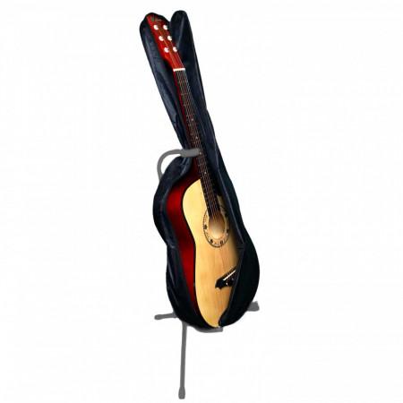 "Chitara acustica 4/4 incepatori 38"" 97CM + Husa, 6 corzi metalice"