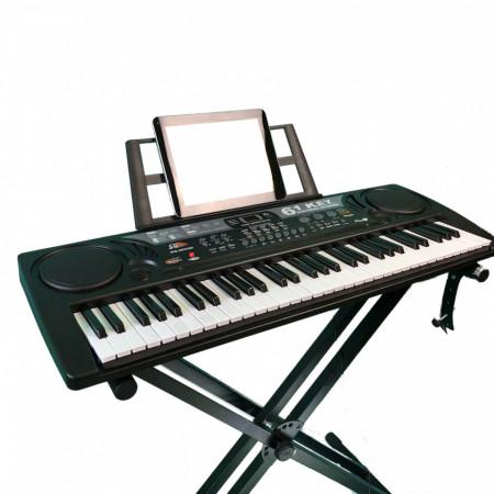 Orga copii 61 clape MQ809 + Microfon Karaoke, USB