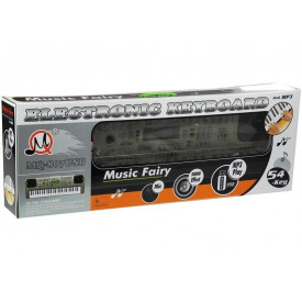 Orga copii cu 54 clape 807 pt joaca si invatat, USB, Microfon karaoke