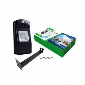 Lampa LED Stradala, Curte, Proiector 30W Acumulator Senzor Panou solar