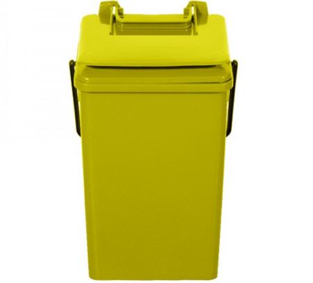 Cos de gunoi pentru birou 10 l, galben