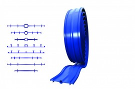 Banda apa-stop din PVC tip REARGUARD FARA BULB CENTRAL (250 mm)