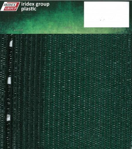 Plasa protectie schela 2X50 m, grad umbrire 80%, verde