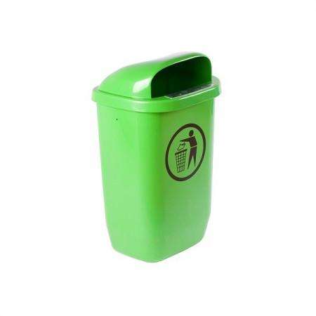 Cos de gunoi stradal 50 l verde